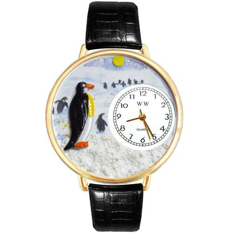 Penguin Watch in Gold (Large) - Watchesfixx Ladies watches
