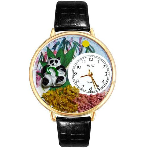 Panda Bear Watch in Gold (Large) - Watchesfixx Ladies watches