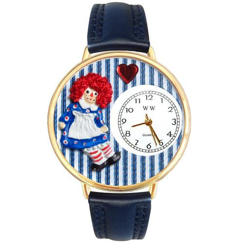 Raggedy Ann Watch in Gold (Large) - Watchesfixx Ladies watches