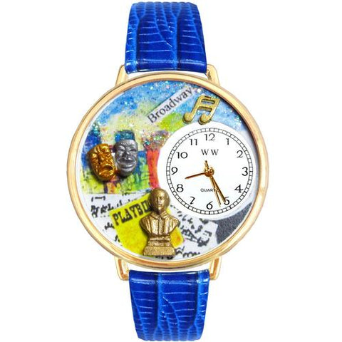 Drama Theater Watch in Gold (Large) - Watchesfixx Ladies watches