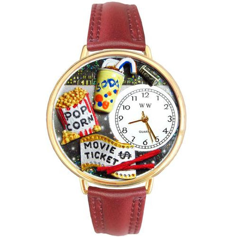 Movie Lover in Gold (Large) - Watchesfixx Ladies watches