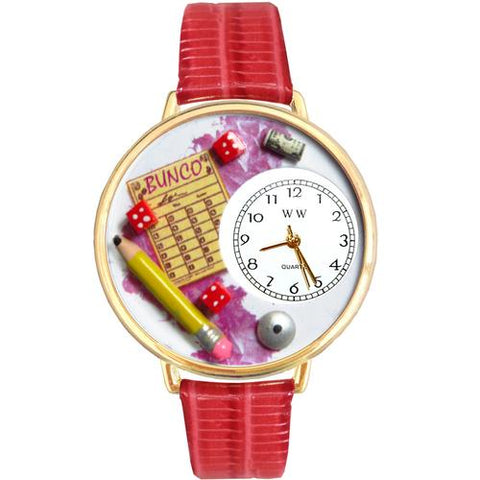 Bunco Watch in Gold (Large) - Watchesfixx Ladies watches