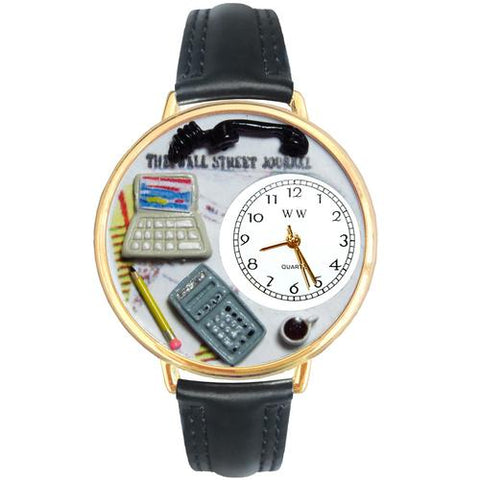 Accountant Watch in Gold (Large) - Watchesfixx Ladies watches