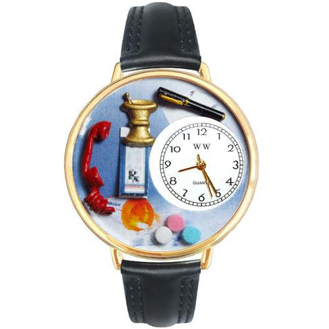 Pharmacist Watch in Gold (Large) - Watchesfixx Ladies watches