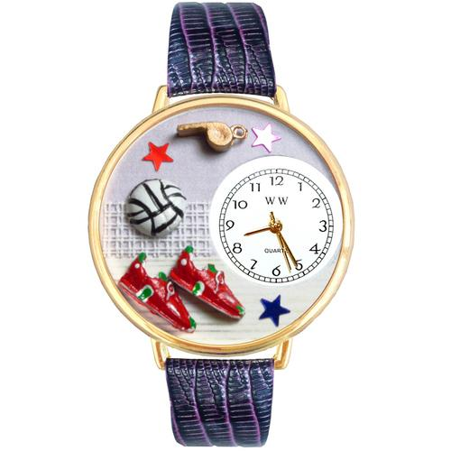 Volleyball Watch in Gold (Large) - Watchesfixx Ladies watches