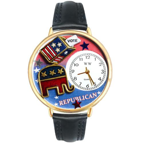 Republican Watch in Gold (Large) - Watchesfixx Ladies watches