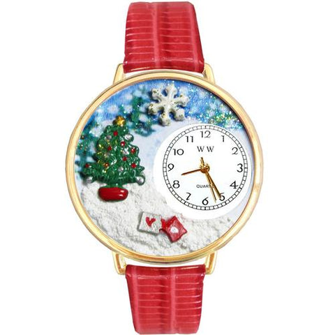 Christmas Tree Watch in Gold (Large) - Watchesfixx Ladies watches