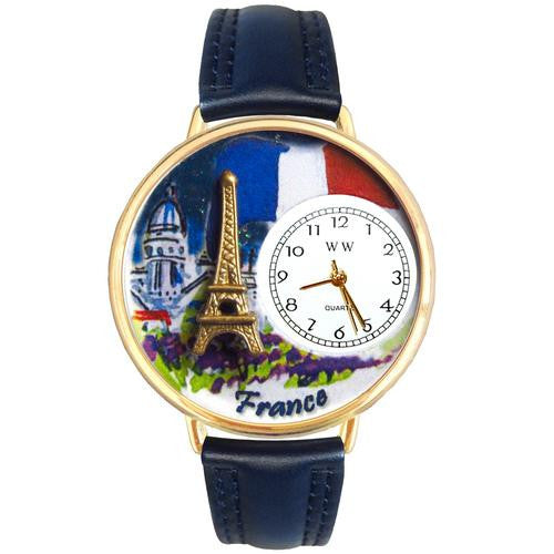France Watch in Gold (Large) - Watchesfixx Ladies watches