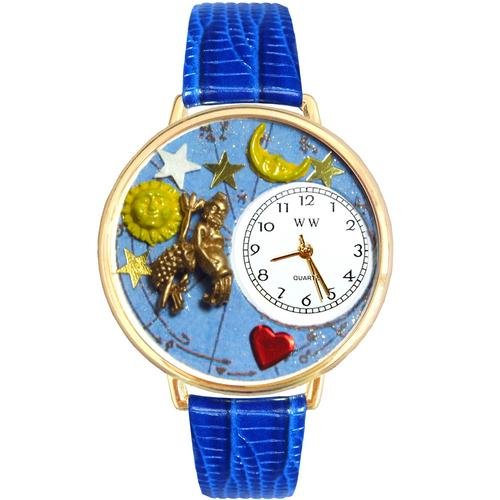 Aquarius Watch in Gold (Large) - Watchesfixx Ladies watches