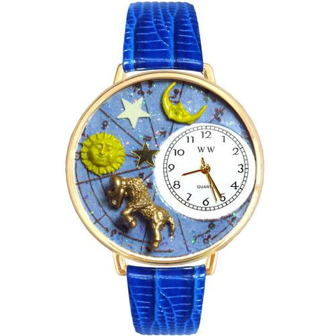 Aries Watch in Gold (Large) - Watchesfixx Ladies watches