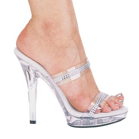 "5"" Heel Rhinestone Sandal. - Watchesfixx 5 inch sandals & pumps-m"
