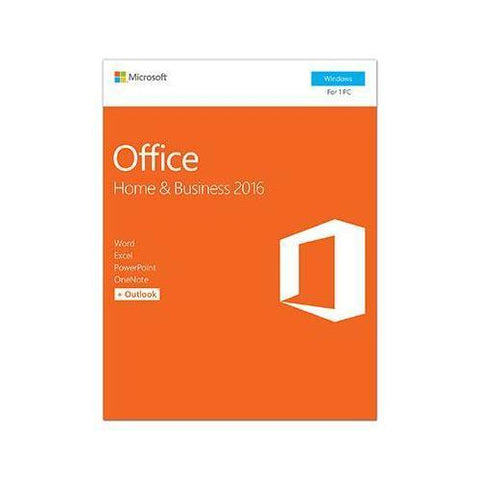 Microsoft Office Home and Business 2016 Win English P2 1 License NA Only Medialess - Watchesfixx Home & Business Apps