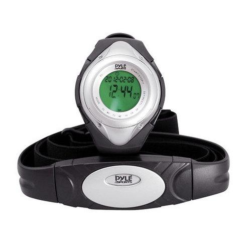Heart Rate Monitor Watch W/Minimum, Average Heart Rate, Calorie Counter, and Target Zones(Silver Color) - Watchesfixx Sports watches