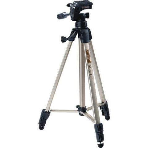Package: 1 Ea<br><br>3-way pan head<br> 3-section legs<br> 2 quick-release plates<br> Folded height: 20.3&#34<br><br> Extended height: 58.32<br> Weight: 2.8lbs<br><br><br> - Watchesfixx Cameras and camcorders