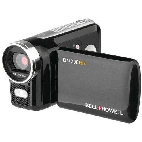 Bell+howell 5.0-megapixel Dv200hd 720p Hd Digital Video Camcorder (pack of 1 Ea) - Watchesfixx Cameras and camcorders