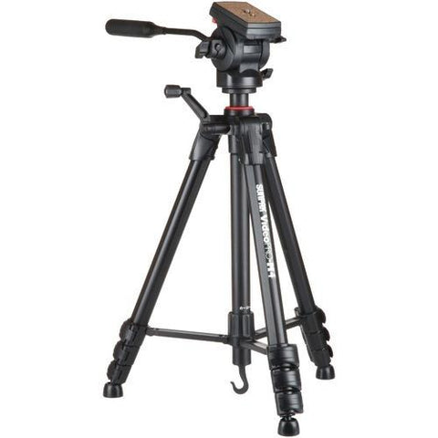 Sunpak Video Pro-m 4 Tripod With Fluid Head (pack of 1 Ea) - Watchesfixx Cameras and camcorders