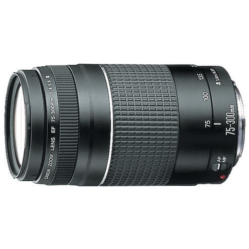 Canon Ef 75mm-300mm Telephoto Zoom Lens (pack of 1 Ea) - Watchesfixx Cameras and camcorders