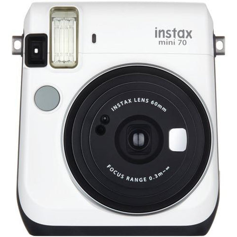 Fujifilm Instax Mini 70 Instant Camera (white) (pack of 1 Ea) - Watchesfixx Cameras and camcorders