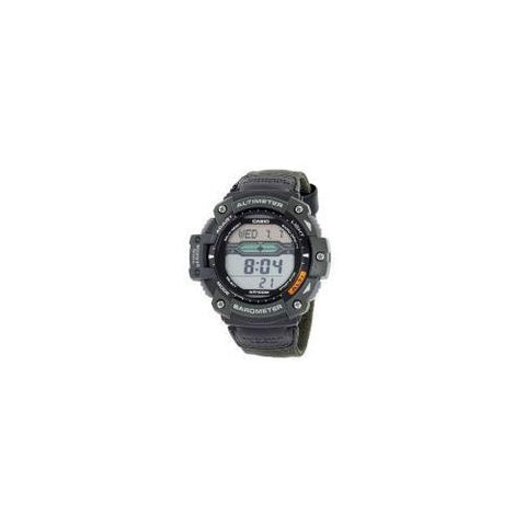 Multi-Task Gear Digital Nylon Strap Twin Sensor,, World Time 5 Alarms,, Stopwatch WR 100M<br /><br /> Brand: CASIO<br /> Style: SGW300HB-3AVCF<br /> Size: MENS - Watchesfixx Casio