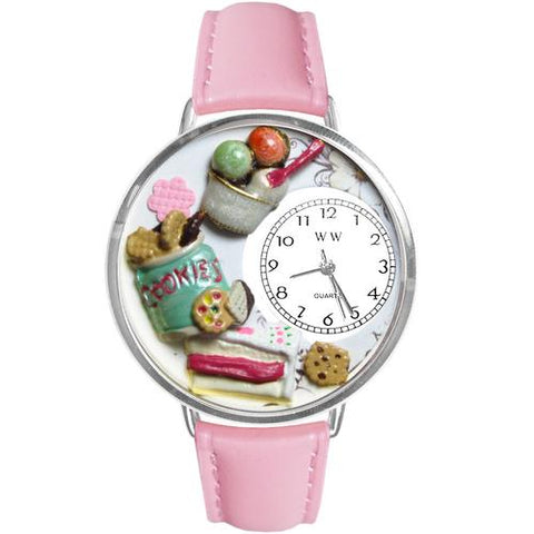 Dessert Lover in Silver (Large) - Watchesfixx Ladies watches