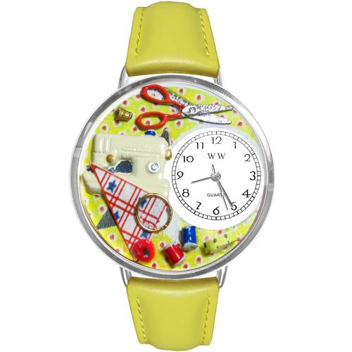 Sewing Watch in Silver (Large) - Watchesfixx Ladies watches
