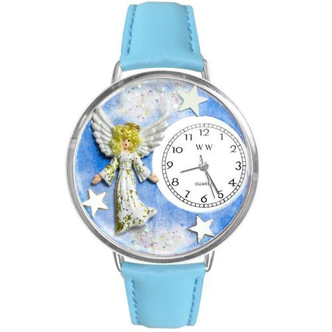 Angel Watch in Silver (Large) - Watchesfixx Ladies watches