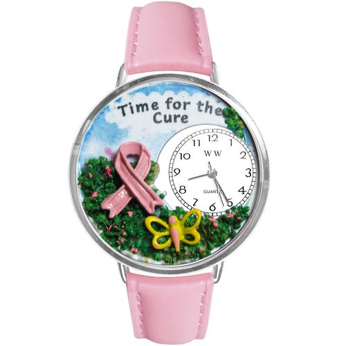 Time for the Cure Watch in Silver (Large) - Watchesfixx Ladies watches