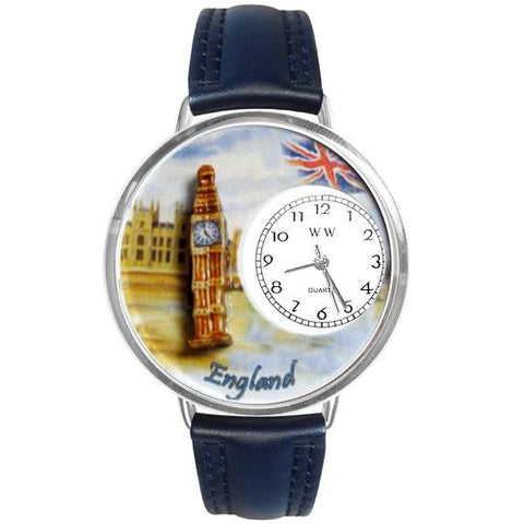 England Watch in Silver (Large) - Watchesfixx Ladies watches