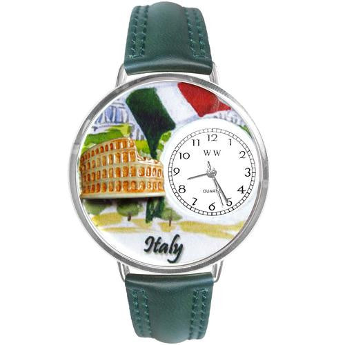 Italy Watch in Silver (Large) - Watchesfixx Ladies watches
