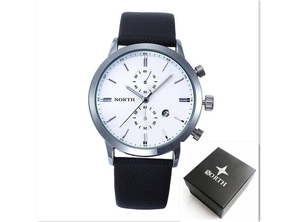 Mens Watches Top Brand Luxury Quartz  Watch Casual Leather Sports Wrist watch Montre Homme Male Clock relogio masculino