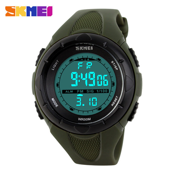 Skmei Brand Fashion Casual Women's Watch Waterproof LED Digital Sports Watches For Boys Girl Outdoor Sport Wristwatches - Watchesfixx Digital Wristwatches