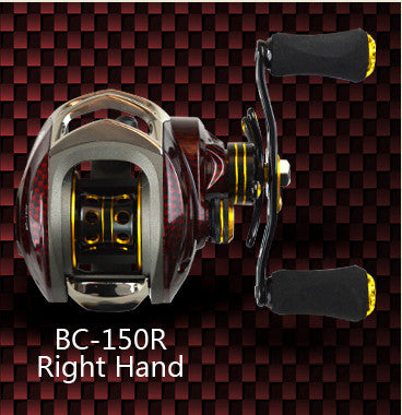 Promote Baitcasting Reel 18 Ball Bearings Left Hand Right Hand Bait Casting Fishing Reels Coil Gear Pesca 6.3:1 Baitcast Reeling - Watchesfixx Water Drop wheel