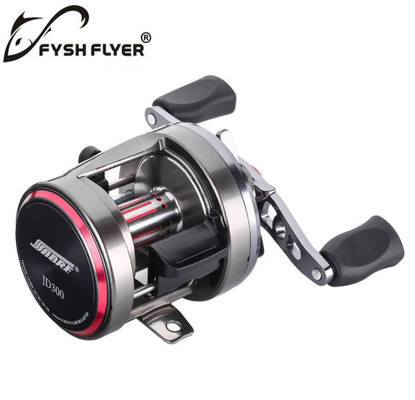 Baitcasting Fishing Reels, The Unique Taper Design ,Carber Fiber Drag Washers, The Magnetic Brake, 7+1BB, Stainless Steel Shaft