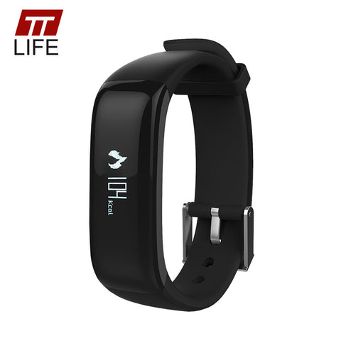 Bluetooth 4.0 Smart Wristband Blood Pressure Monitor Wearable Heart Rate  Smart Bracelet For Phone - Watchesfixx Digital Wristwatches