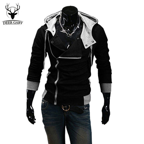 Winter&Autumn Men's Fashion Brand Hoodies Sweatshirts ,Casual Male Hooded Jackets