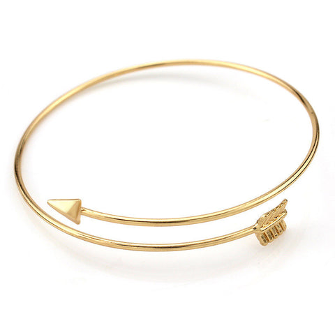European&American Newest Alloy Bangles Brief Style Arrow Bangles Women Fashion Jewelry