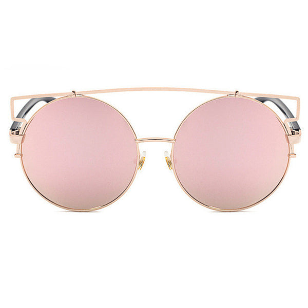 ROYAL GIRL NEWEST Women Double Wire Oversized Sun glasses Big Round Bohemian Vintage Sunglasses ss180 - Watchesfixx