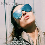 ROYAL GIRL Fashion Brand Cool Sunglasses Women Rimless Sunglasses Mirror Glasses women Goggles Sun Glasses ss560 - Watchesfixx