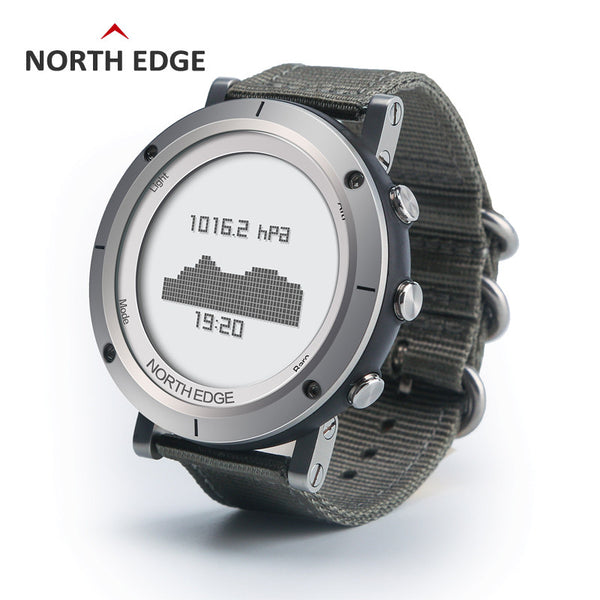 Men Sports Watch Compass Altimeter Barometer Thermometer Weather Forecast Pedometer Watches Digital Running Climbing Wristwatch - Watchesfixx Digital Wristwatches