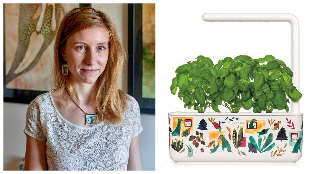Meet the artist behind the illustrations on the new, limited edition Smart Garden 3