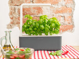 Grow herbs all year round with a smart indoor garden. Grow fresh basil, fresh cilantro and many more with the Click & Grow plant growing kit called the smart indoor garden. The best gift for plant lover!