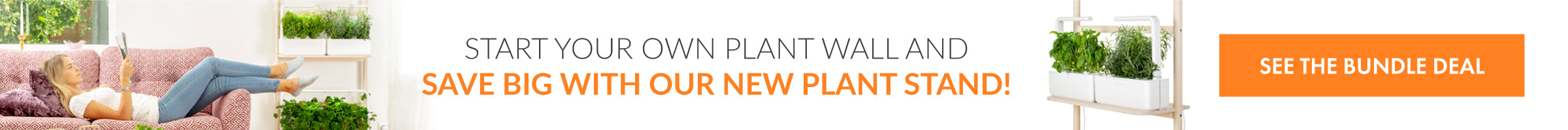 Start your own plant wall and save big with our new Plant Stand!