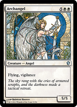 Archangel Mystery Booster Card