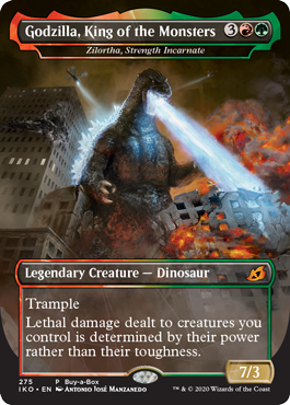 Godzilla King of the Monsters Buy-a-Box Promo
