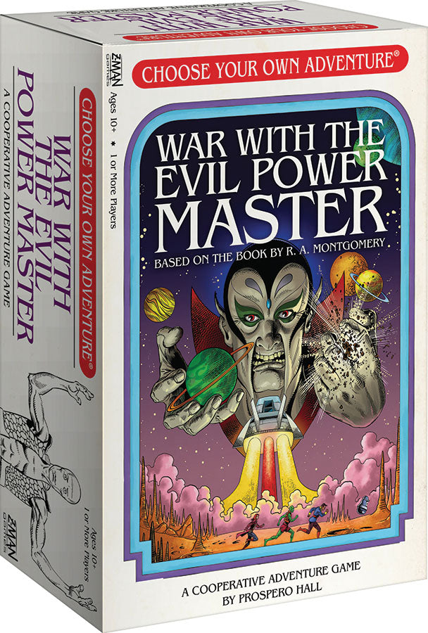 Choose Your Own Adventure: War with the Evil Power Master | Phoenix Comics and Games