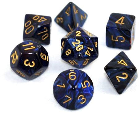 Gemini 3: Poly Black Blue/Gold (7) | Phoenix Comics and Games