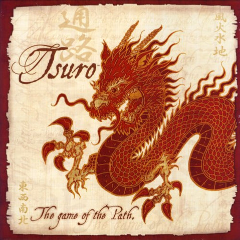 Create your own journey with Tsuro.the Game of the Path. 
