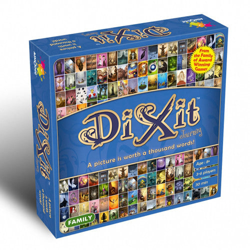 Dixit is a ground-breaking game, offering delightful and thought-provoking entertainment for all your friends and family. Use your flair and intuition to select the right image while avoiding the pitfalls set by the other players. | Phoenix Comics and Games