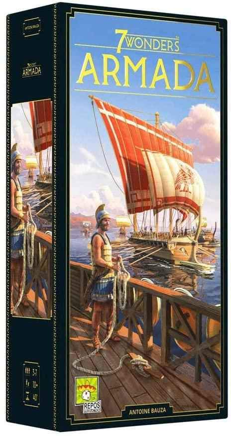 7 Wonders Armada Expansion (New Edition) | Phoenix Comics and Games