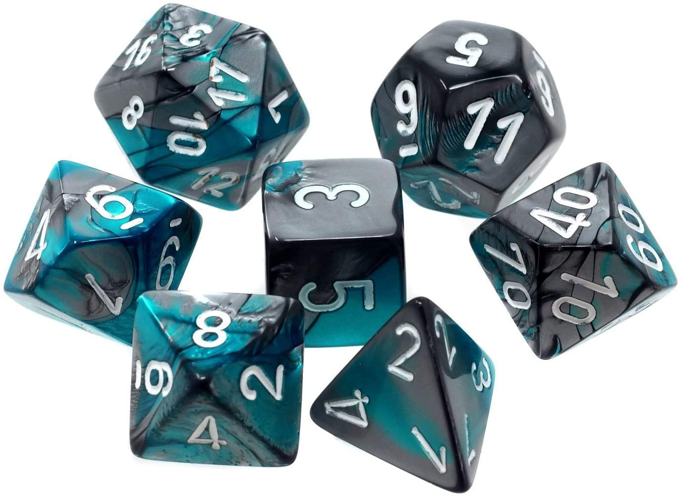 Gemini 6: Poly Steel Teal/White (7) | Phoenix Comics and Games